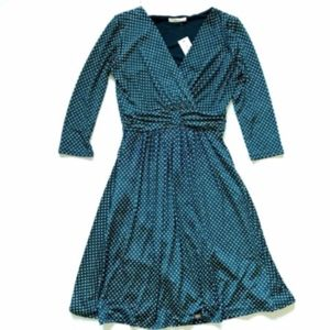NWT Le Lis Dress Roxy Textured Knit Fit & Flare XS